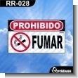 ROTULOS PREFABRICADOS PROHIBICION