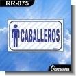 ROTULOS PREFABRICADOS DE BANOS