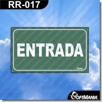 Lee el articulo completo Rotulo Prefabricado - ENTRADA