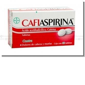 Lee el articulo completo CAFIASPIRINA CAJA DE 60
