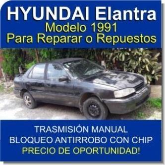 Lee el articulo completo HYUNDAI Elantra Modelo 1991 - Para reparar o repuestos - Oportunidad