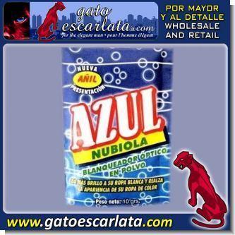 AZUL NUBIOLA - BLANQUEADOR OPTICO - CAJA